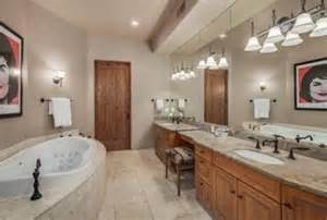 mid range country master bathroom zillow digs