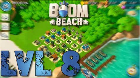 base layout strategy boom beach boom beach headquarters lvl 8 base layout defense