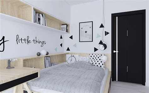 desain kamar kos remaja 59 desain kamar tidur nuansa hitam putih