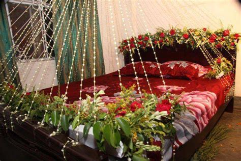 Wedding Room Decorations by Beautiful Bridal Room Decoration Masehri With Flowers In India