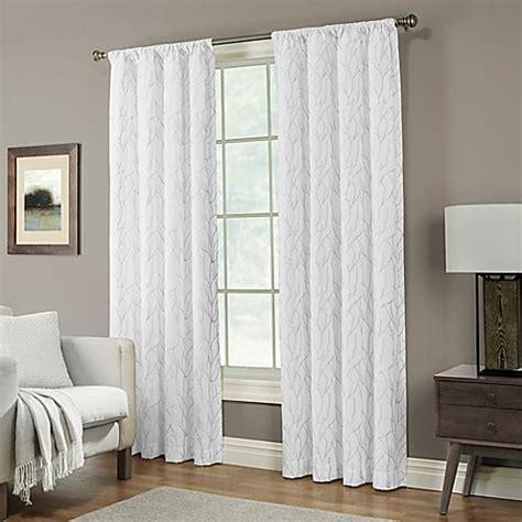 white curtain panels 84 buy pinehurst 84 inch rod pocket window curtain panel in