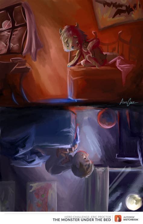monsters under my bed monster under my bed by gears of rain on deviantart