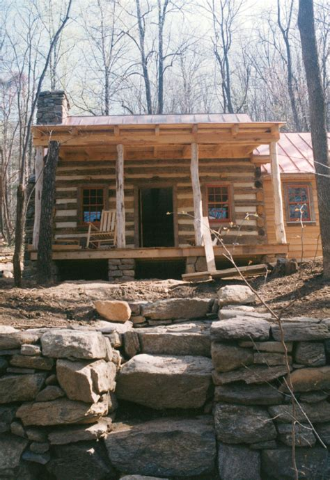 cabin building part two of building a rustic cabin handmade houses