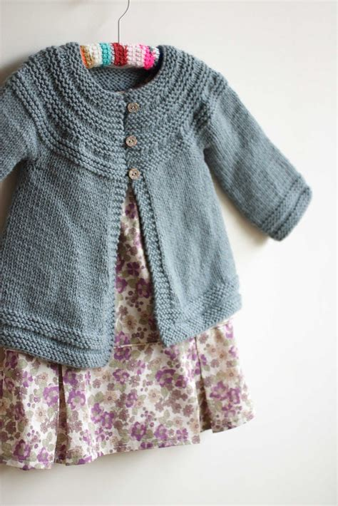 knit down sweater pattern 5 cardigans for little girls free pattern swings and