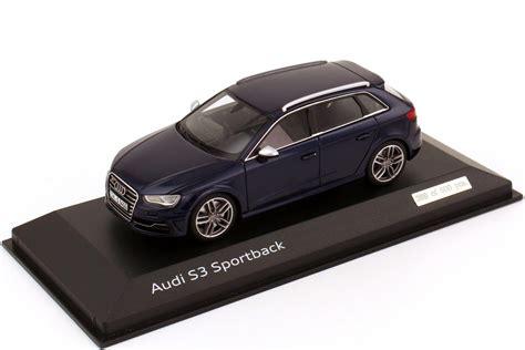 Audi S3 Datenblatt by 1 43 Audi S3 Sportback 8v 2013 Estorilblau Met