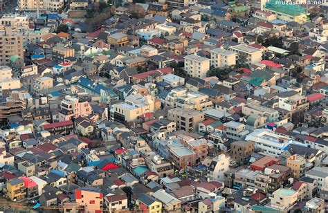 Houses For Narrow Lots tokyo s little houses a bird s eye view