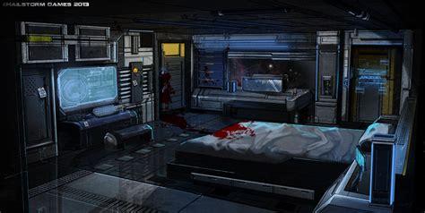 spaceship bedroom potemkin captain s quarters by ionen deviantart com on deviantart sci fi marvels iv