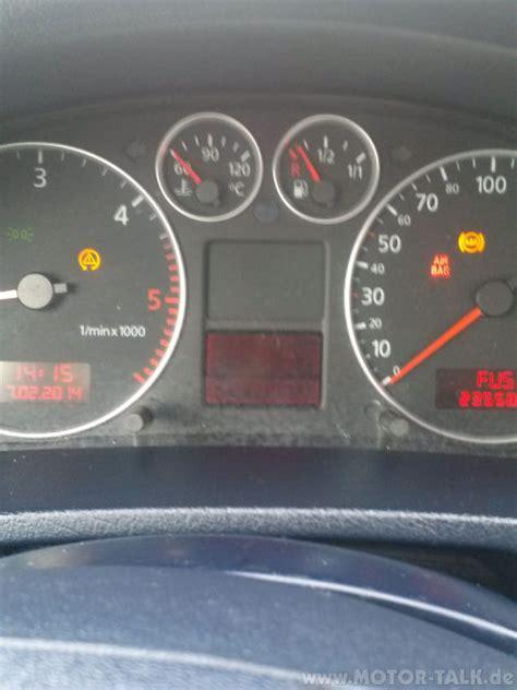 Audi A6 Tankanzeige Spinnt by Kombiinstrument Temperatur Und Tankanzeige Problem 1 9