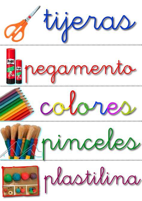Letreros De Aulas En Colegio | materiales