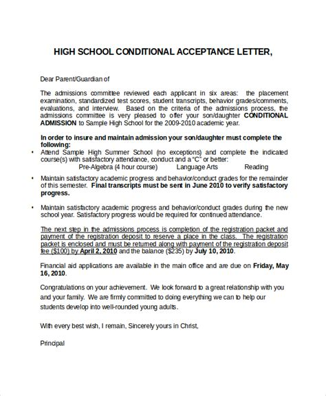 College Scholarship Acceptance Letter Sle School Program Acceptance Letter Template 100 Images Sle Of Nursing School Admission Letter