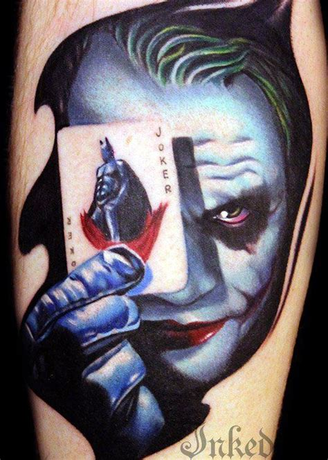 tattoo von joker 193 besten batman tattoos bilder auf pinterest batman
