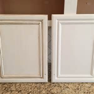 Glazing Stained Kitchen Cabinets Painting Kitchen Cabinets Before Amp After Mr Painter