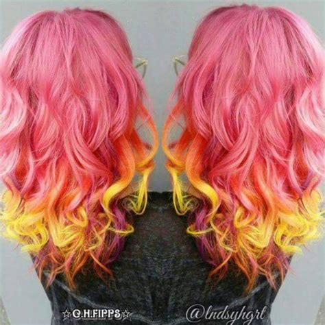 sunset hair color sunset hair color trend popsugar photo 7