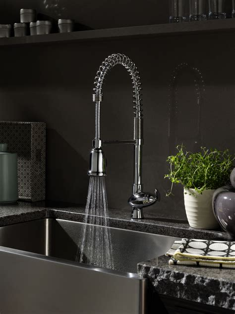 style kitchen faucets best industrial style kitchen faucet