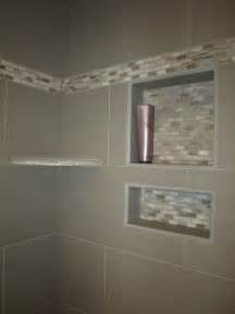 bathroom shower niche ideas the recessed shelves are exactly what i want with the living wall quot garden quot hanging above them in