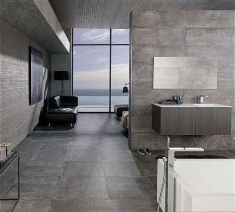 Schlafzimmer 60 Luftfeuchtigkeit by Fliesen Beton Raum Haus Mit Interessanten Ideen