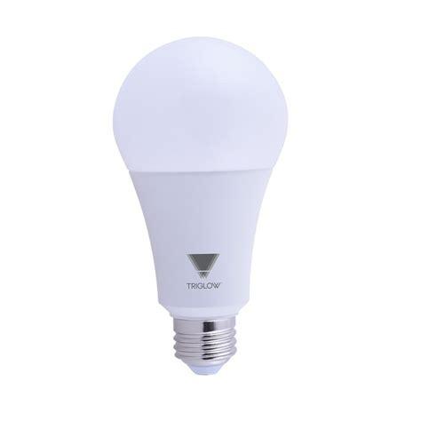 150 watt light bulb equivalent triglow 150 watt equivalent a21 dimmable 2550 lumens led