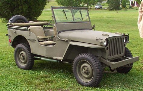 1942 Ford Jeep 1942 Ford Gpw1 Army Jeep