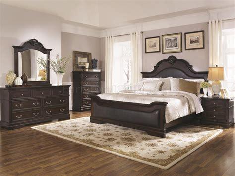 Bedroom Furniture Cambridge Cambridge 203191 Bedroom In Cappuccino By Coaster W Options
