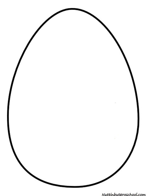 printable egg shapes 34 egg shape coloring page oval coloring page