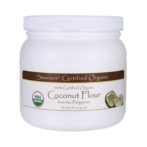 Coconut Powder Vitamin 100 certified organic coconut flour 1 lb 454 grams pwdr