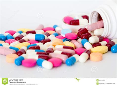 download medical pills tablets and capsules on white and medicine royalty free stock photo image 30717945