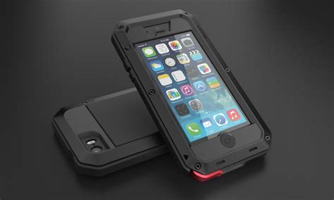 Hardcase Armor Metal Aluminum Luxury Cover Casing Iphone 6 Plus 55 lunatik taktik for iphone 5s groupon