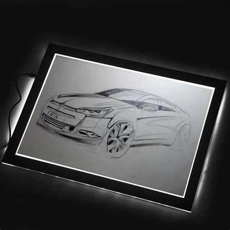 huion 17 7 inch a4 led light box drawing tracing board