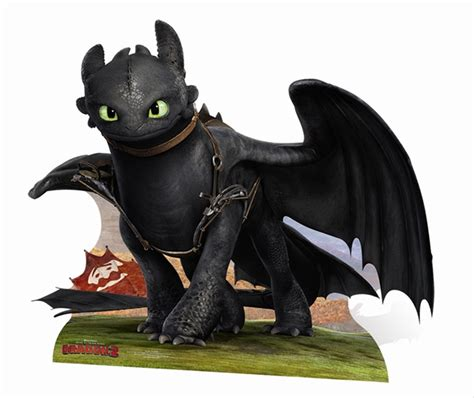 14x11 Bedroom by Toothless How To Train Your Dragon 2 Huge Cardboard Cutout