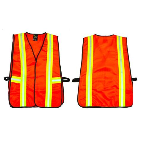 g f orange all industrial safety vest with reflective