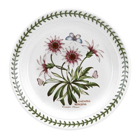 Portmerion Botanic Garden Portmeirion Botanic Garden Plate 8 Inch Treasure Flower Portmeirion Uk