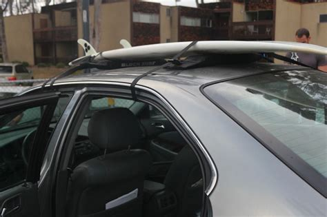 Block Surf Rack by Block Surf Wrap Rax Soft Surfboard Roof Racks Single
