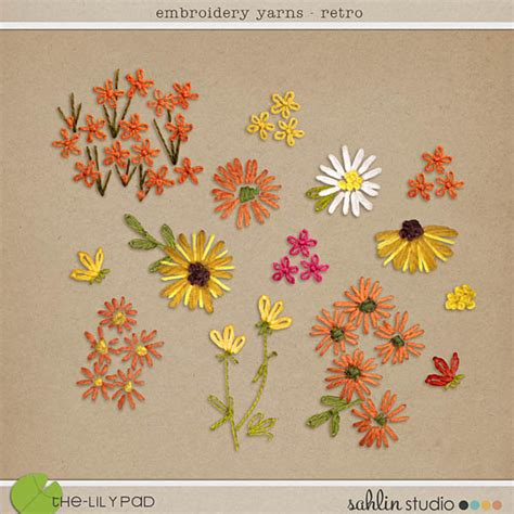 Mixed Patterns by Element Packs Digital Scrapbooking Elements The Lilypad