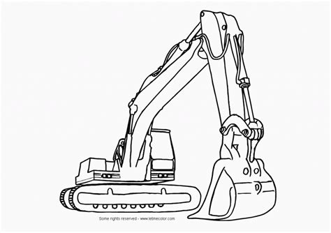 construction trucks coloring pages coloring home