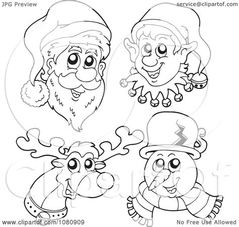 printable elf face elf face pattern