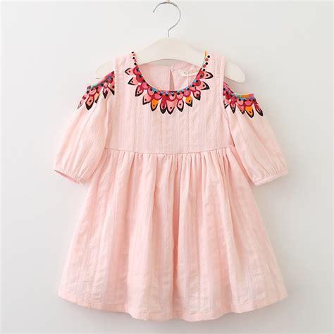 menoea girls dress  summer style kids lace dresses