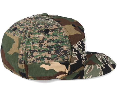 new era camo new york yankees patchwork camo fitted 59fifty fitted