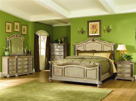 green bedroom set king bedroom furniture sets2