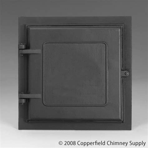 Fireplace Cleanout Door Home Depot by Woodfield Cast Iron Access Door 12 Inch X 12 Inch