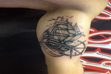 tattoo 3d milano veliero by sailors tattoo milano