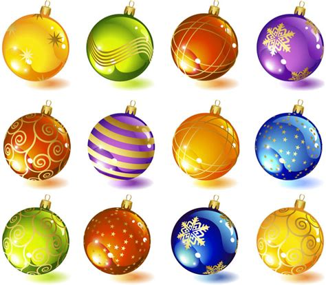 Christmas tree glass ball ornaments vector   Free Stock ... Free Christmas Ornaments Clip Art