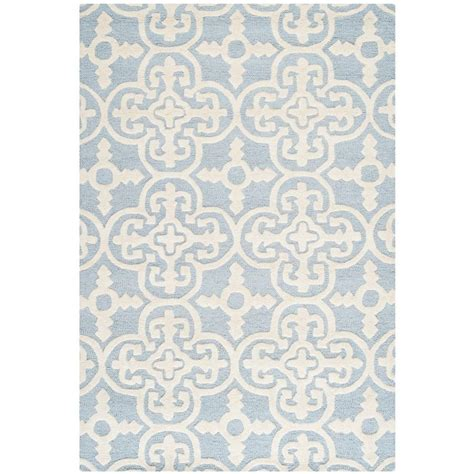 carleson ivory and blue rug safavieh cambridge light blue ivory 3 ft x 5 ft area rug