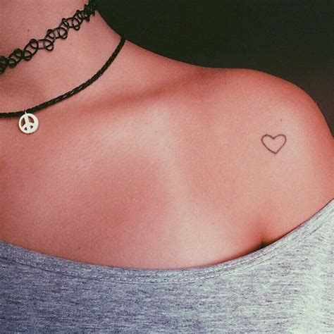 small love heart tattoo small tattoos for www pixshark images
