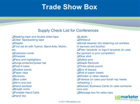 trade show checklist and marketing tips jyler best practices in trade show marketing