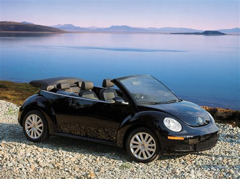 volkswagen convertible black vw new beetle convertible wallpapers for your desktop