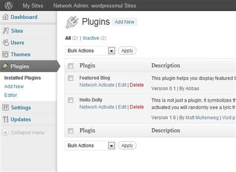 wordpress tutorial tutsplus a featured blog plugin for wordpress multisite