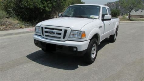 sell   ford ranger sport extended cab pickup  door   north hollywood california