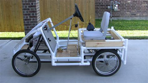 build from pvc pipe car 15 awesome pvc projects home design garden