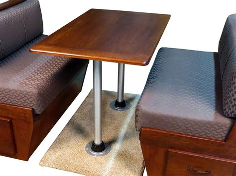 rv dinette to bar remodel rv remodel table base cing