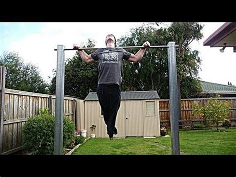 pull up bar in backyard how to build pull up bar
